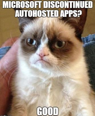 cat autohosted